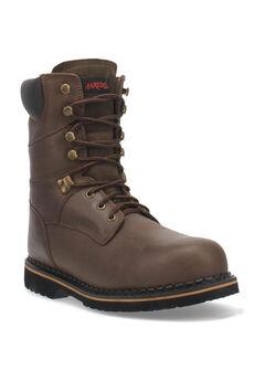 Chain Steel Toe Boot,