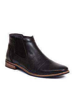 Deer Stags® Argos Cap-Toe Boots,