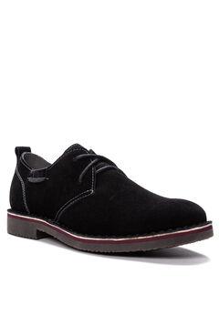 Men's Finn Oxford, Plain Toe - Suede Shoes,