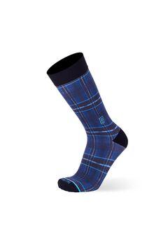 The Blue Plaid Socks,