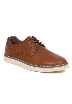 Deer Stags®Oakland Plain Toe Memory Foam Flexible Oxford Shoes,