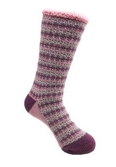 Allover Fairisle Thermal Sock Socks,