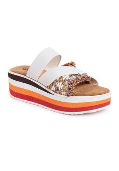 Groove Artist Platform Sandals,