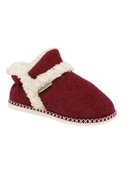Faux Wool Felted Ankle Slipper Boot Slippers,