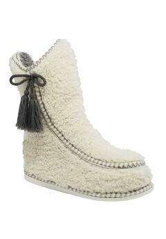 Berber Moccasin Slipper Boot,