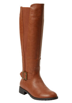 The Milan Wide Calf Boot ,