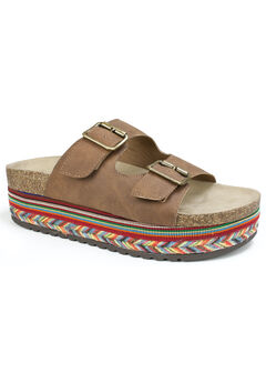 Beverlyn Footbed Sandal,