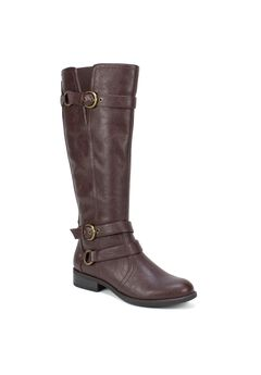 Loyal Wide Calf Boot,