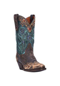 Vintage Bluebird Boot ,