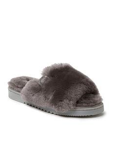 Cairns Shearling Slide Slippers,