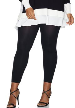 Curves Blackout Footless Tights,