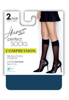 Perfect Geo Compression Socks 2-Pack,