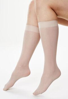 3-Pack Knee-High Compression Socks ,