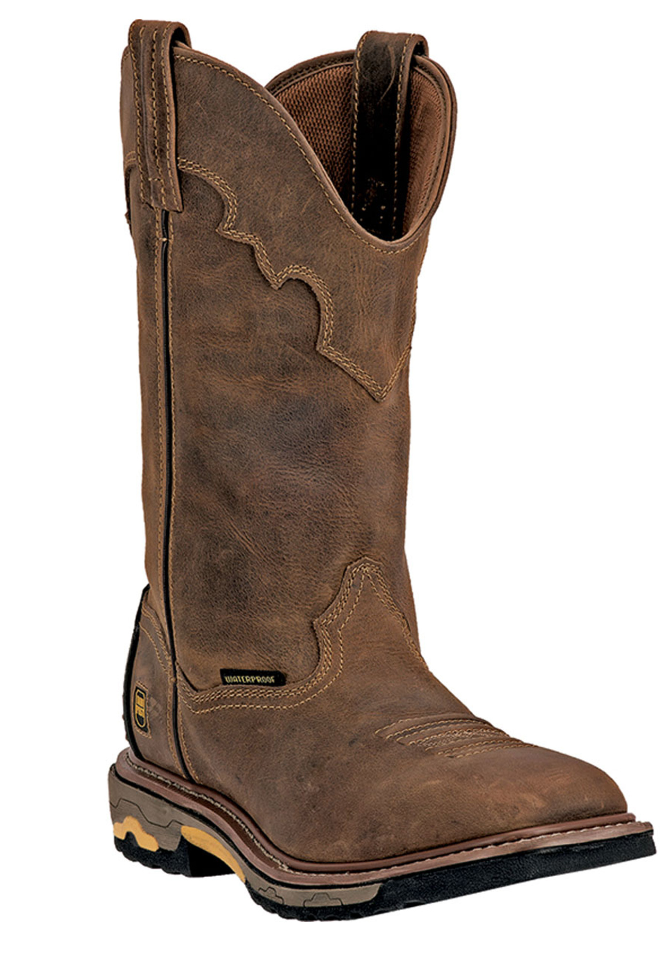 "Dan Post Blayde 11"" Shaft Distressed Steel Toe Boot,"