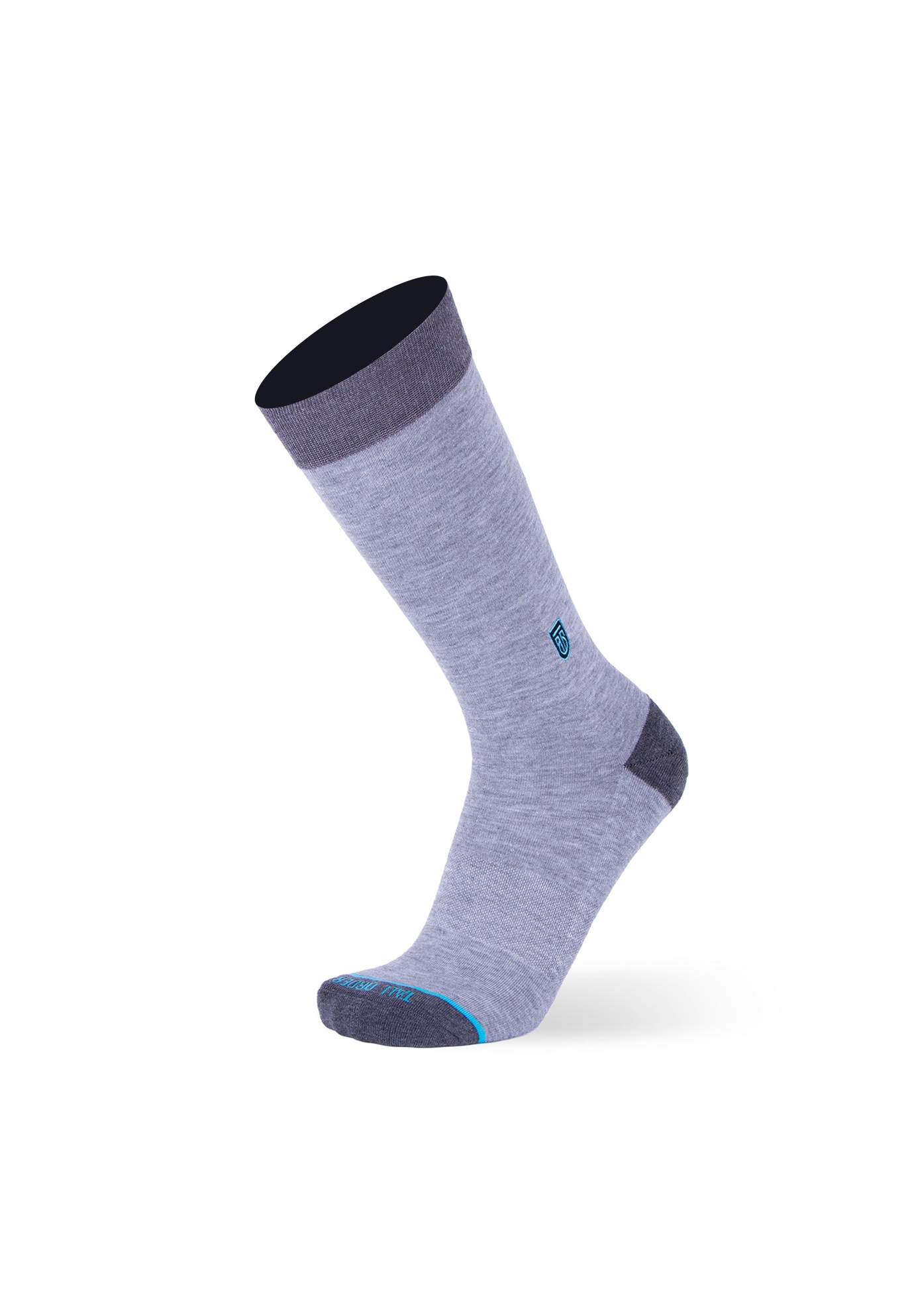 The Heather Grey Socks,
